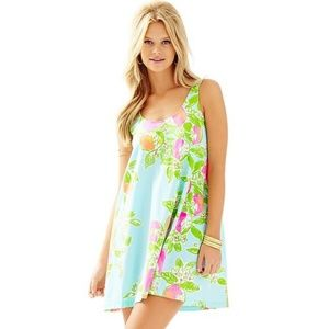 Lilly Pulitzer Carmel Printed Tank Dress Size XS
